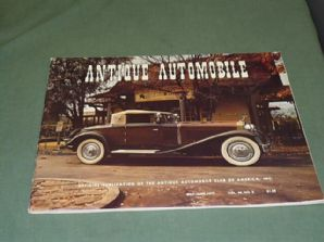 ANTIQUE AUTOMOBILE Vol.40 No.3 May-June 1976